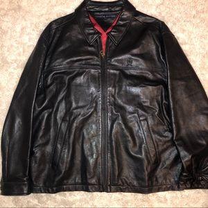 Tommy Hilfiger 100% Genuine Leather Jacket